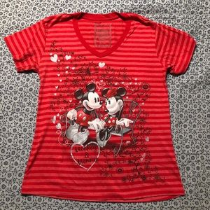 Disney Store brand Minnie Mickey Mouse shirt L